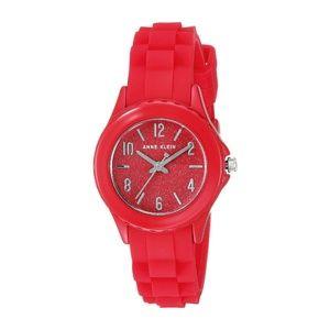 Anne Klein Red Sparkle Watch